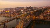 Porto al tramonto, portogallo — Foto Stock