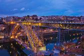 Ponte di dom luis i, porto, portogallo — Foto Stock
