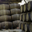 Stockfoto: Cellar with wine barrels
