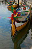 Traditional boats of Aveiro, Portugal — Stock Photo