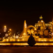 Plaza de la Cibeles (square of Cibela) — Stock Photo #9026752