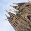 Sagrada Familia, Barcelona, Spain - Stock Photo