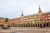 Plaza Mayor, Madrid, Spain — Stock Photo