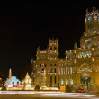 Plaza de la Cibeles (square of Cibela) — Stock Photo #9313219