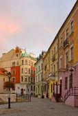 Strada a lublino, polonia — Foto Stock