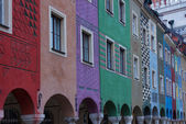 Market square of Poznan, Poland — Stock Photo