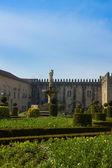 Palace of bishop, Braga, Portugal — Stock Photo
