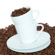 Stock Photo: Cup of caffee comcept