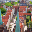Overview of old town, Gdansk, Poland — Stock Photo #9754055