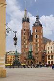 Saint Mary's church in Krakow, Poland — Stock Photo