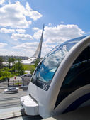 Monorail Train In Moscow, Russia — Stock Photo