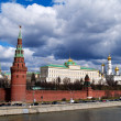 The Kremlin wall, Moscow, Russia — Stock Photo
