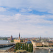 Panorama of Stockholm, Sweden — 图库照片