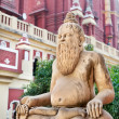 Statue in Laxmi Narayan temple — Stock Photo