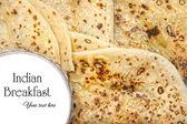 Indisches Frühstück — Stockfoto