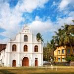 Portuguese colonial Church in Kochi — Stock Photo