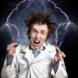 Crazy scientist — Stock Photo