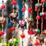Elephants in market — Stock Photo #9258137