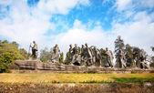 Gyarah murti heykeli — Stok fotoğraf