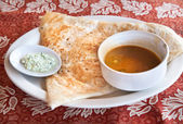 Indian masala dosa — Stock Photo