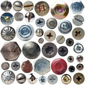 Screws collection — Stock Photo