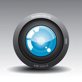Lens 1 — Stock Vector