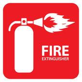 Extintor set 1 — Vector de stock