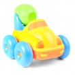 Toy cement mixer isolated over white background — Stock Photo