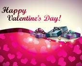 Valentijnsdag kaart — Stockvector