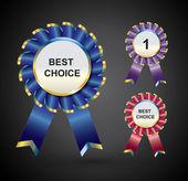Vector Awards — Stock Vector