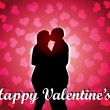 Valentine's Sweethearts — Vector de stock #8707844