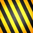 Hazard Stripes Brushed Metal — Stock Photo #8621879