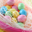 Easter candy eggs - Stock Photo