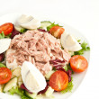 Salad with tuna - Foto Stock