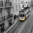 Yellow train in Lissabon, Portugal. — Stock Photo #10165541