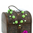 Wooden treasure chest — Stock Photo #10356383