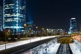 Tel aviv night — Stock Photo