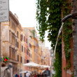 Urban scene of Rome — Stock Photo