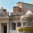 Fountain in Rome — Stock Photo