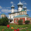 Stock Photo: Famous Tikchvin Monastery.