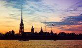 The White Nights of Petersburg. — Stock Photo