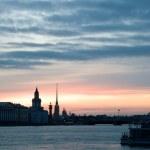 White nights of St.Petersburg, Russia. — Stock Photo #10562700