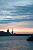 White nights of St.Petersburg, Russia. — Stock Photo