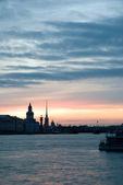 White nights of St.Petersburg, Russia. — Stock Photo