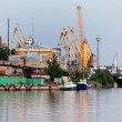 Port of Vyborg, Russia. — Stock Photo #9428839