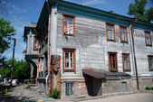 Traditional old Russian house — Stock Photo