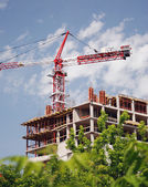Building of a new house. — Stock Photo