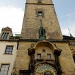 Famous old medieval clock in Prague. — Photo