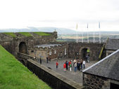 Inside Stirling Castle. Stirling, Scotland — Stock Photo