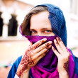 Stock Photo: Muslim woman